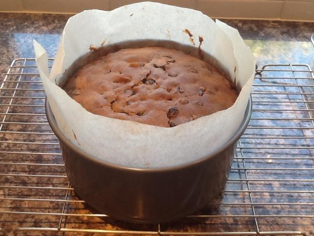 Baked Spiced Fruit Cake