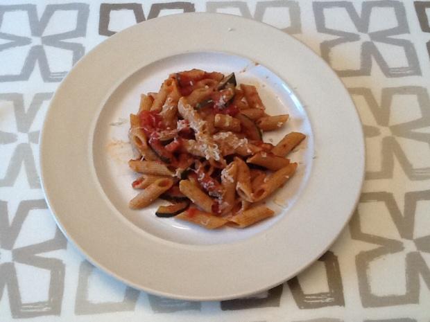 Pancetta & Courgette Pasta