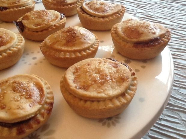Cherry and Spice Mince Pies