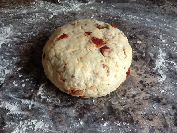 Soda bread dough
