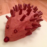 Henry the Hedgehog Cake