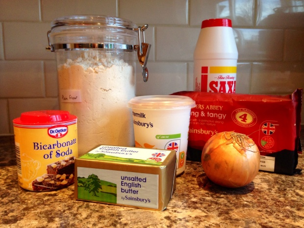 Soda bread ingredients