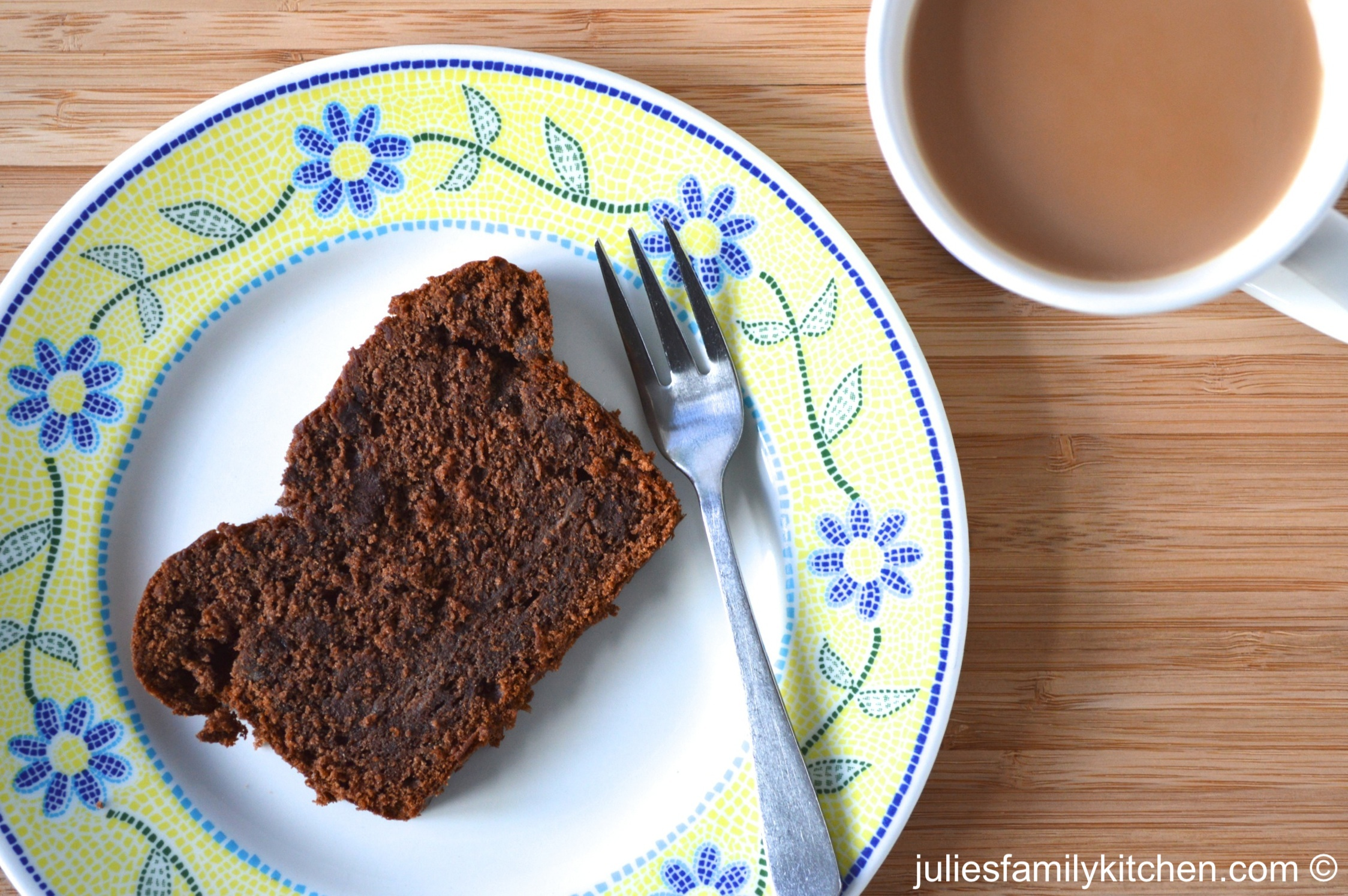 Double Chocolate Banana Cake - Julie's Family Kitchen
