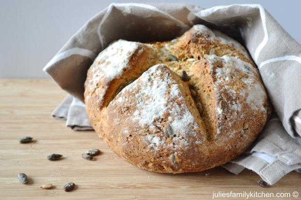 Seeded Wholemeal Soda Bread