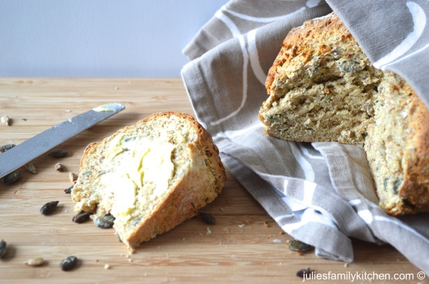 Seeded soda bread