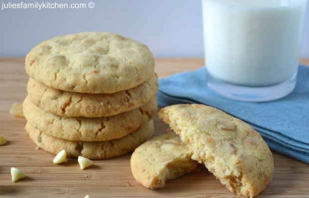 Tropical White Chocolate Cookies