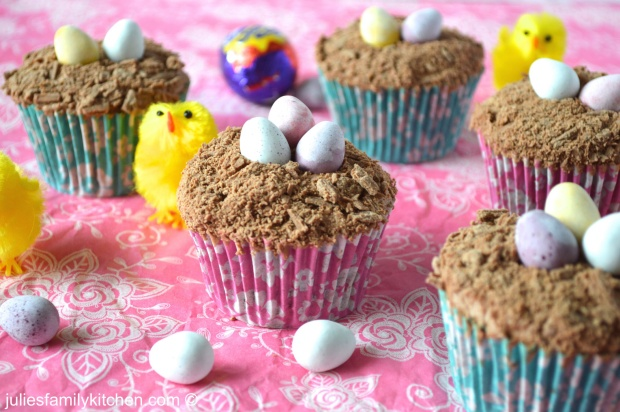 Extremely Chocolatey Easter Cupcakes