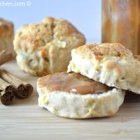 Apple and cinnamon scones