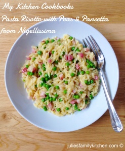 Pasta risotto from Nigellissima