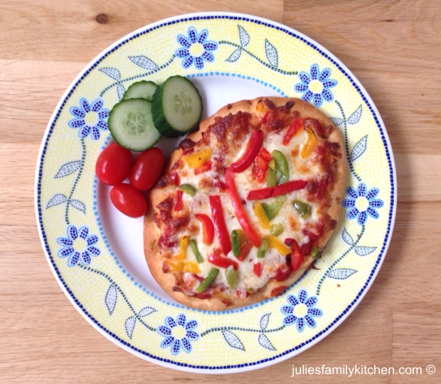 Pepper Flatbread Pizza