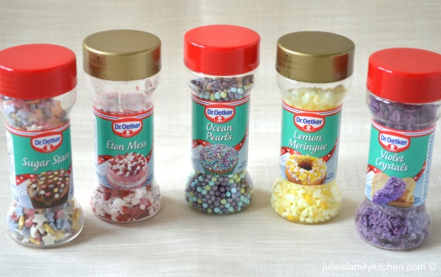 Dr Oetker decorations