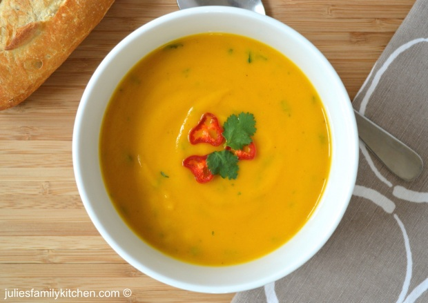 Garam Masala Spiced Carrot and Lentil Soup