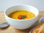 Garam Masala Spiced Carrot and Lentil Soup