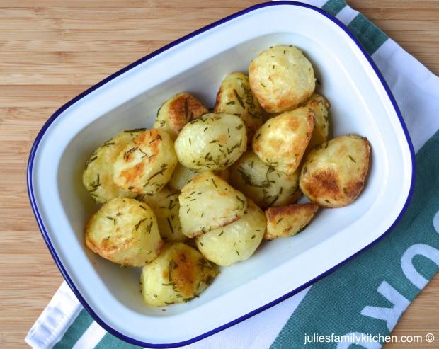 Rosemary and Thyme Roast Potatoes