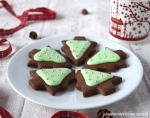 Chocolate and Peppermint Christmas Tree Cookies Family Kitchen