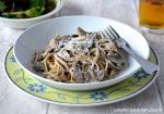 Julie's Family Kitchen Mushroom Spelt Spaghetti