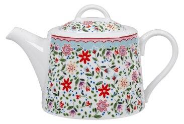 The Caravan Trail Fowey Teapot