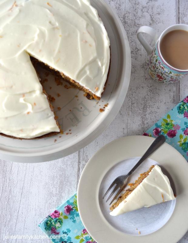 Healthier Carrot Cake