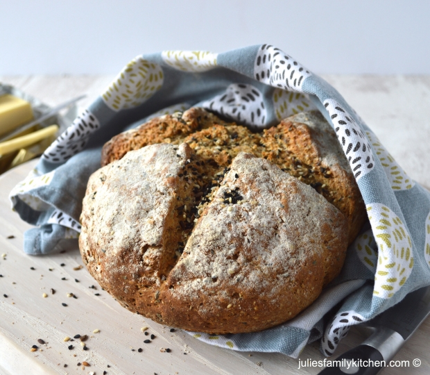 8 seed soda bread