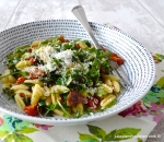 Gnocchetti with Parma Ham and Tomatoes